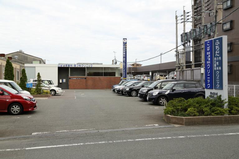 駐車場30台完備
